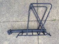 Pannier Rack for bicycle. Reliable and sturdy. As good as new.