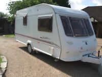 elddis magnum 482 2 birth 2001 with motor mover and porch awning