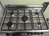 Baumatic five hob cooker as new.