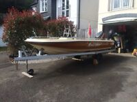 Dory Eurosport 15ft with 40hp Mariner Outboard & 20hp Suzuki spare outboard