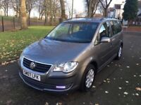 2007 VOLKSWAGEN TOURAN TDI 1.9 DIESEL 7 SEATER **FULL SERVICE HISTORY + DRIVES VERY GOOD**