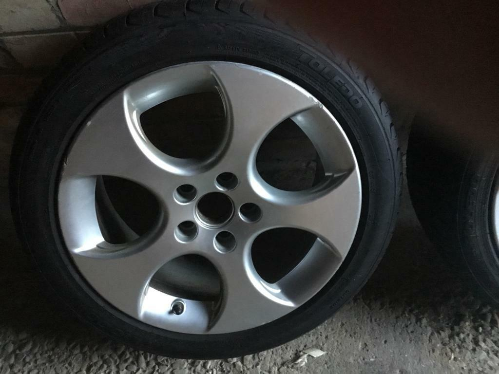 Alloys tyres vw golf