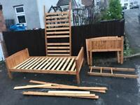 PINE BUNK BEDS ** FREE DELIVERY IS AVAILABLE **
