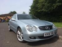 MERCEDES CLK ,220 DIESEL AUTOMATIC , NEW MOT , GEN LOW MILES