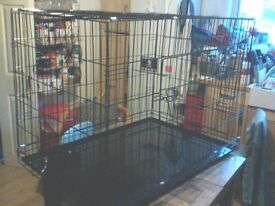 "extra large Dog cage 27""W X 30""H X 41""L"