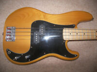 Fender Squier Vintage Modified '70s , 4-String Precision Bass / Natural