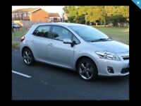 Toyota Auris 1.8 T-spirit hybrid only 70,000 miles full Toyota service history hou clear