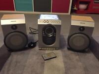 Philips Remote Control Mini Hi-Fi CD, Cassette and Radio