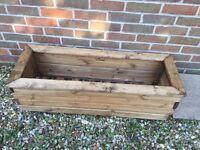 Wooden Garden Planter (new and unused)