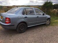Skoda fabia automatic 1.4 petrol MOT June 17 selling as got new car £1000 or nearest offer