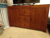 Tampica Oak Darkwood Sideboard