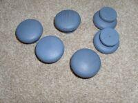 Blue Door Knobs