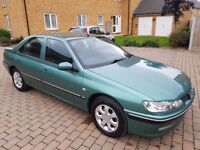 PEUGEOT 406 PETROL GTX MODEL-E0 ENGINE-ELECTRIC SEATS-ALLOY-GREAT CONDITION IN AND OUT not 307 206