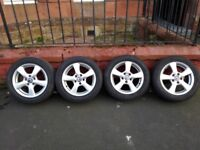 Honda Civic 8th Generation Alloy Wheels and Tyres.