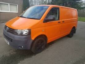 2012 Volkswagen transporter t32 140 bhp 6 speed t5 air con ply lined low miles