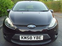 2008 FORD FIESTA 5DR MK7 1.6 TDCI ECONETIC ONLY 4,534 MILES HPI CLEAR ZERO ROAD TAX