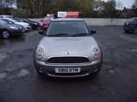 2010 MINI ONE, ENGLAND VERSION, 2 OWNERS FROM NEW,LOW MILES FULL SERVICE HISTORY, , GREAT DRIVER