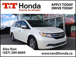 2014 Honda Odyssey EX-L Navi *Local Van, Back-up Camera, Heated