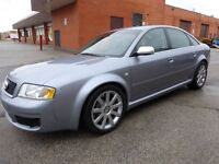 2004 Audi RS 6 450 HP MONSTER -- QUATTRO -- CANADIAN
