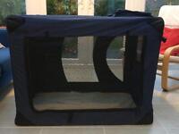Folding. Canvas Dog Crate XL