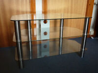 Glass TV Stand - Only 3 months old