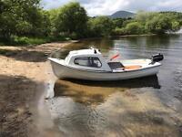 Maxcraft fishing boat dinghy Orkney like