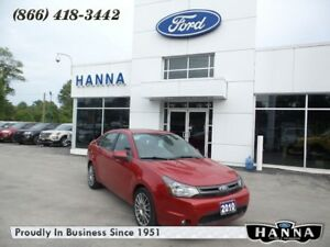 2010 Ford Focus SES FWD *LUXURY GROUP*