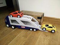 Little Tykes Transporter plus 2 Cars S11