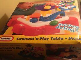 Little tikes play table (boxed new unused)