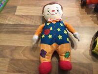 Mr tumble talking soft toy