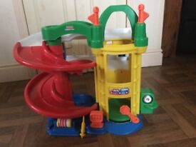 Fisher Price Racin Ramp Garage. Lovely clean condition rarely played with.