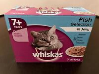 Whiskas Cat Food Pouches 7+