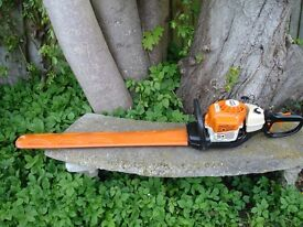 "STIHL HS81R 30"" PROFESSIONAL HEDGE TRIMMER CUTTER IN EXCELLENT LITTLE USED CONDITION."