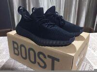 Brand New Adidas Yeezy Boost 350 V3 Black size 3~12 uk