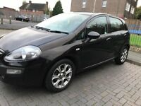 2012 (61)fiat punto evo 1.4 black with mot till March 2018