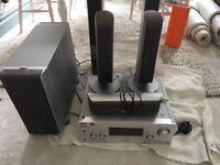 Sony TV surround sound system