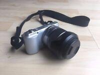 Sony NEX-C3 16.2MP Digital SLR Camera - Excellent Condition