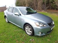 2008 LEXUS IS220d 2.2 DIESEL SE MANUAL MOT DECEMBER 2018 2 FORMER KEEPERS DRIVES WELL PX WELCOME