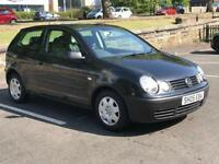 2005 VOLKSWAGEN VW POLO 1.2 * 3 DOOR * IDEAL 1ST CAR * CHEAP INSURANCE *NEW MOT JULY 2019 * DELIVERY