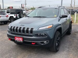 2015 Jeep Cherokee TRAILHAWK**8.4 TOUCHSCREEN**NAV**BLUETOOTH**