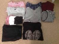 Maternity bundle, new look size 12, h&m size M, 16 items