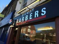 BARBER REQUIRED Full Time or Part Time