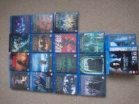 18 Blu-ray movies. Mint condition. Only £50!