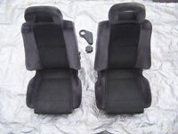 2 front Seats `recaro style` in great order for retro fitting to any vehicle OFFERS
