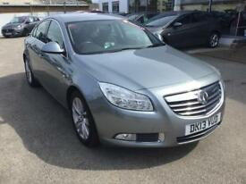 Vauxhall Insignia 2.0 CDTi SRi Nav [160] 5dr (silver lake met (g)) 2013