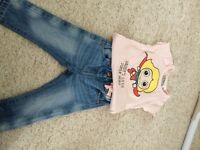 6-9 months baby clothes with couple 9-12 months