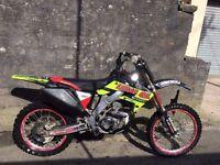 Motocross - Honda CRF 250 2007