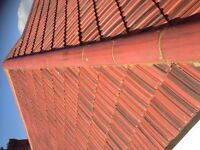 Roofer offering roofing services Guttering flat roofs fascias chimneys