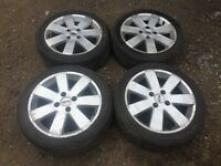 "Ford Fiesta / focus 16"" alloy wheels - excellent tyres"
