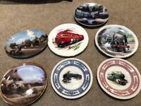 7 Train Plates Various R526 Excellent condition COLLECTION ONLY